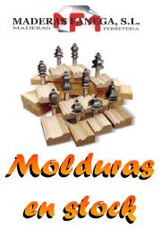Catálogo de molduras para carpintería