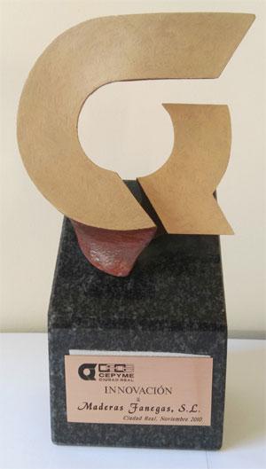Premio a la Innovación de CEOE CEPYME para Maderas Fanega