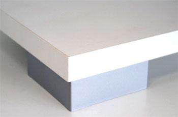 Pata de cocina aluminio redonda