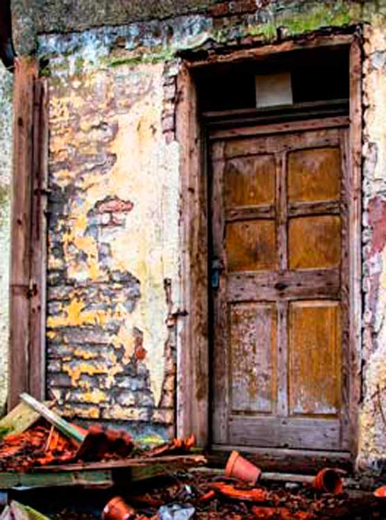 Puerta Rústica de Madera