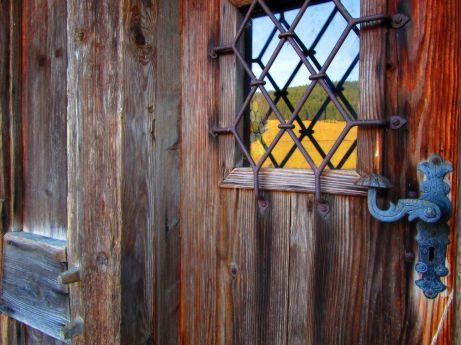 Puertas de calle maciza