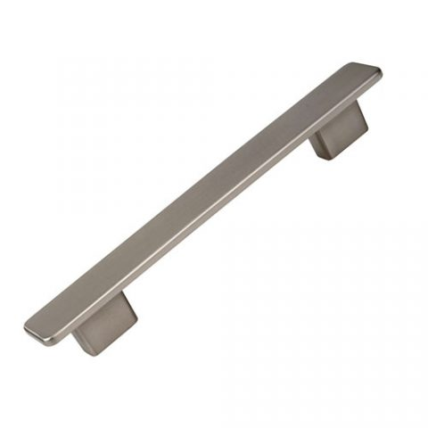 Tirador T131 Inox Mate Antihuellas de 128/160 mm.