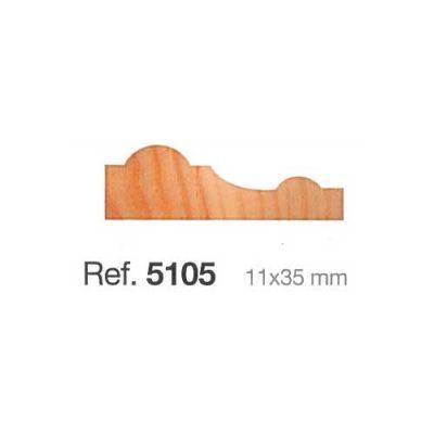 Moldura de madera de 11x35
